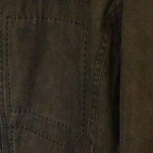 Hugo Boss Jackets & Coats - Boss HUGO BOSS brown denim jacket Sz 42R US